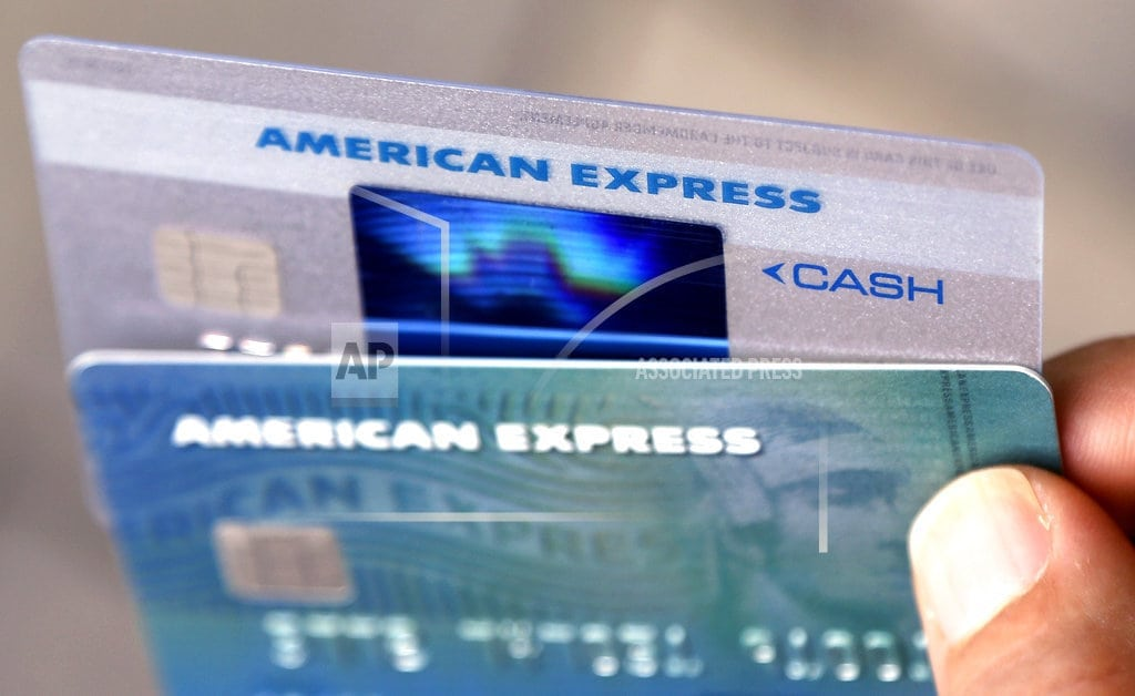 NEW YORK | AmEx 2Q profits rise, but there are worry spots on lending