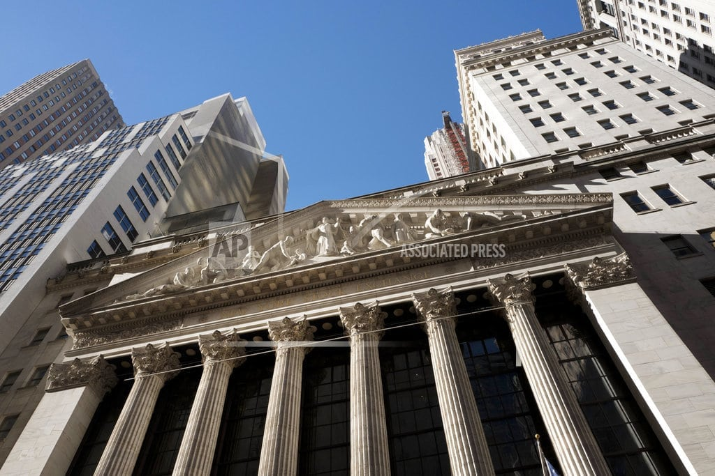 NEW YORK | US stocks rebound as tech and household goods companies rise