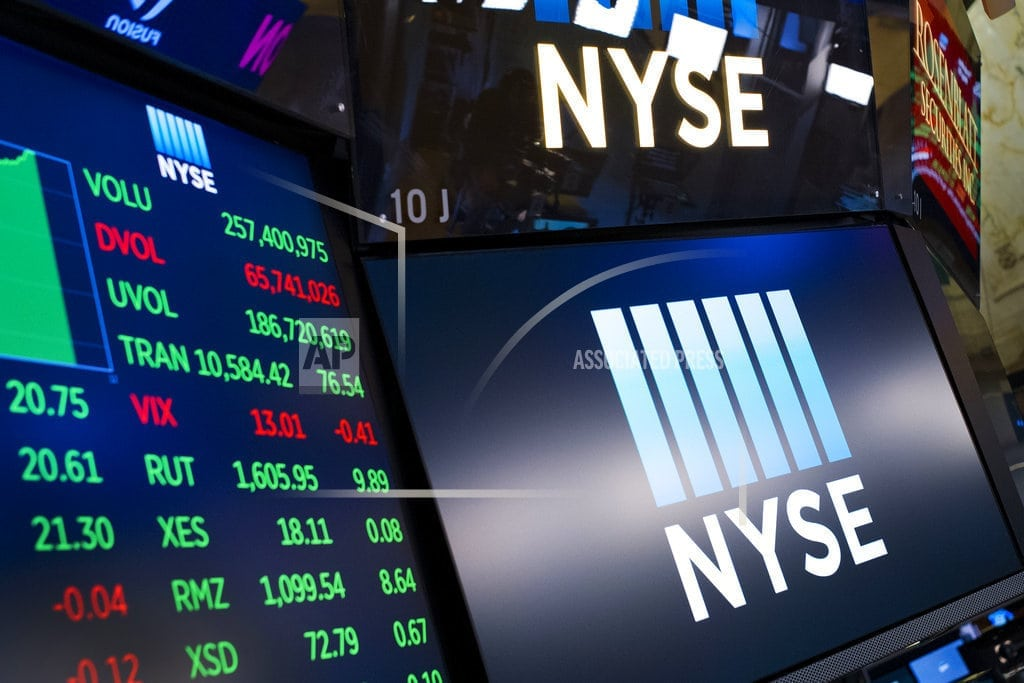 NEW YORK | Banks weaken, but small-company stocks hold up well