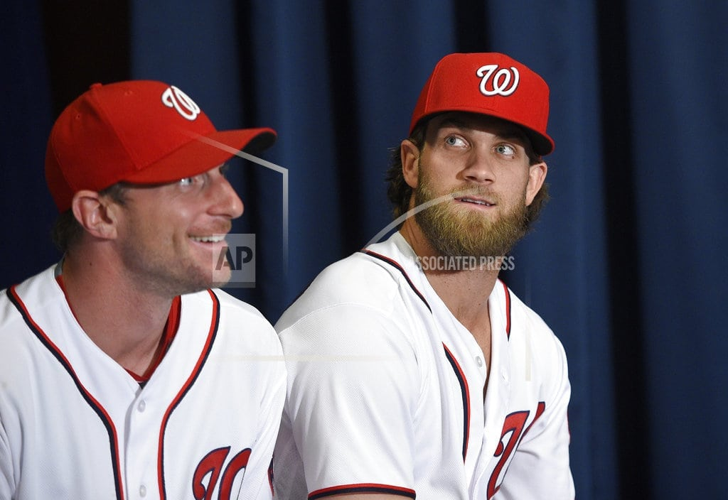 WASHINGTON | The Latest: deGrom to follow Scherzer for NL All-Stars