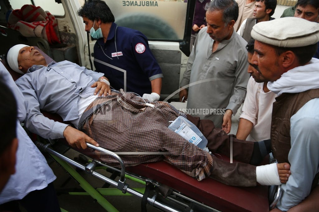 KABUL, Afghanistan | 7 killed, 15 wounded in suicide attack in Afghanistan