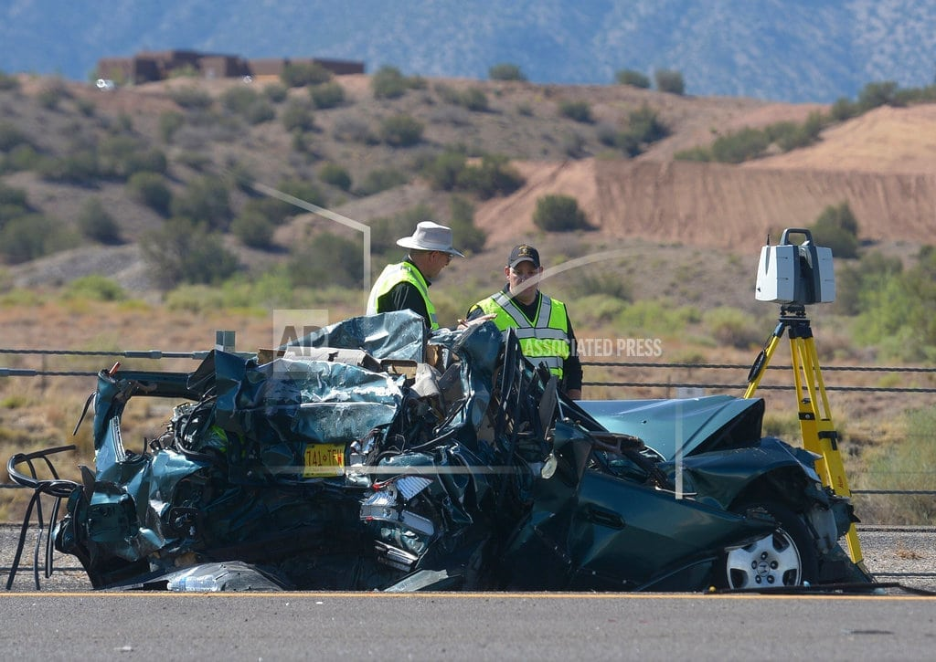 BERNALILLO, New Mexico | New Mexico passenger bus crash kills 3, injures 24 others