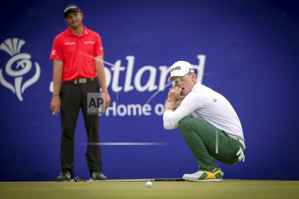 GULLANE, Scotland | Stone wins Scottish Open, misses 1st 59 on European Tour