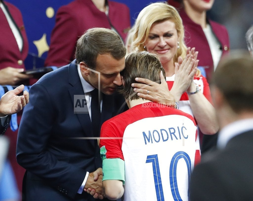 MOSCOW | French President Macron has plenty of fun at World Cup final