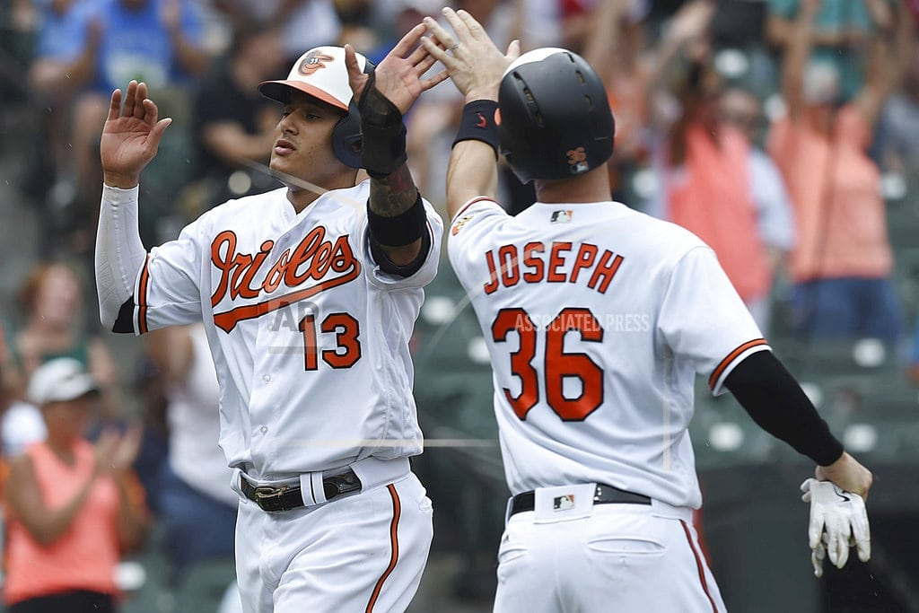 BALTIMORE | Machado homers, exits early in Orioles' 6-5 win over Texas