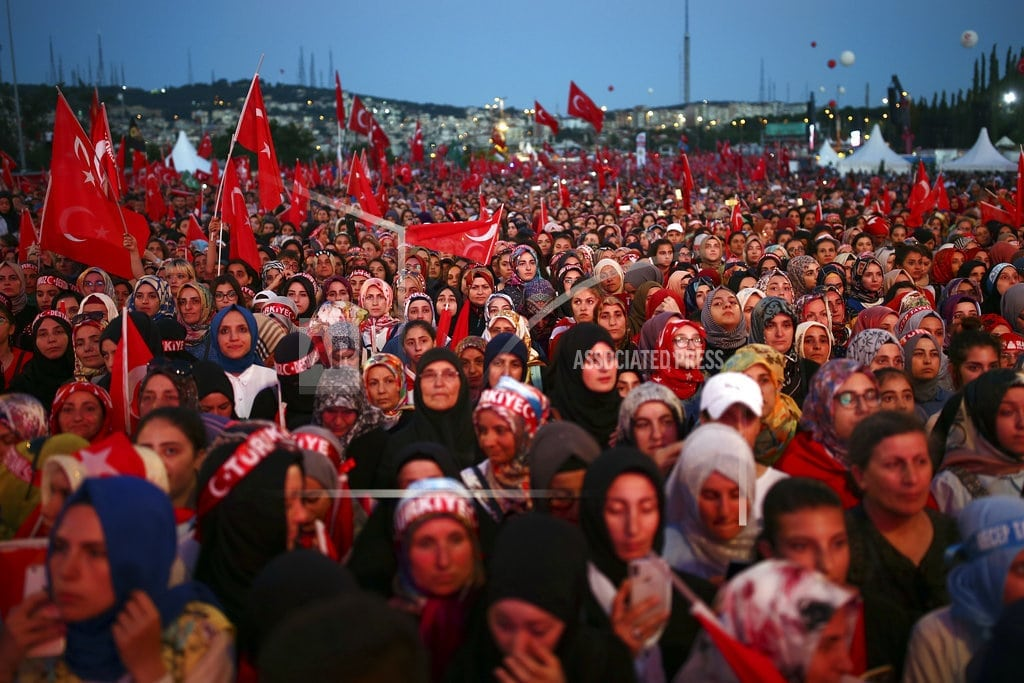 ISTANBUL | Turkey marks 2nd anniversary of thwarting violent coup
