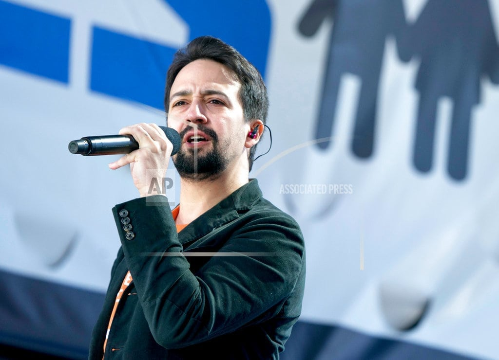 NEW YORK | Lin-Manuel Miranda to publish a picture book