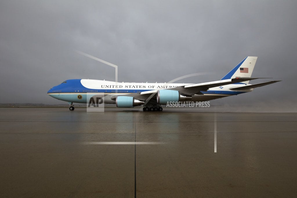 WASHINGTON | Trump says Air Force One to get red, white and blue makeover