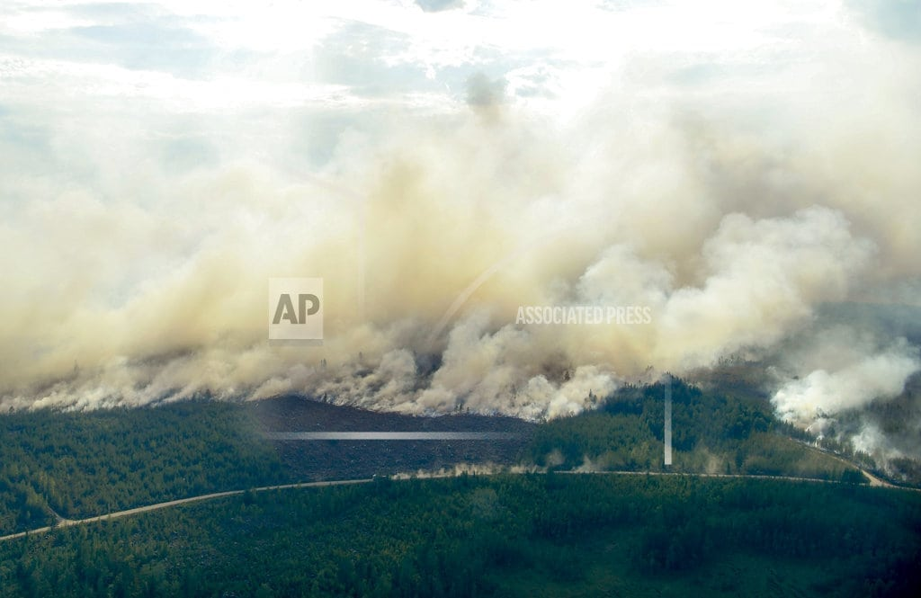 HELSINKI | EU nations help Sweden as wildfires rage above Arctic Circle