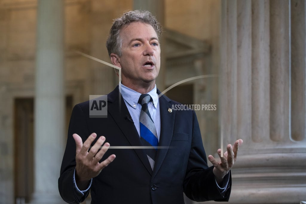 WASHINGTON | In President Trump, Sen. Rand Paul finds a like-minded ally