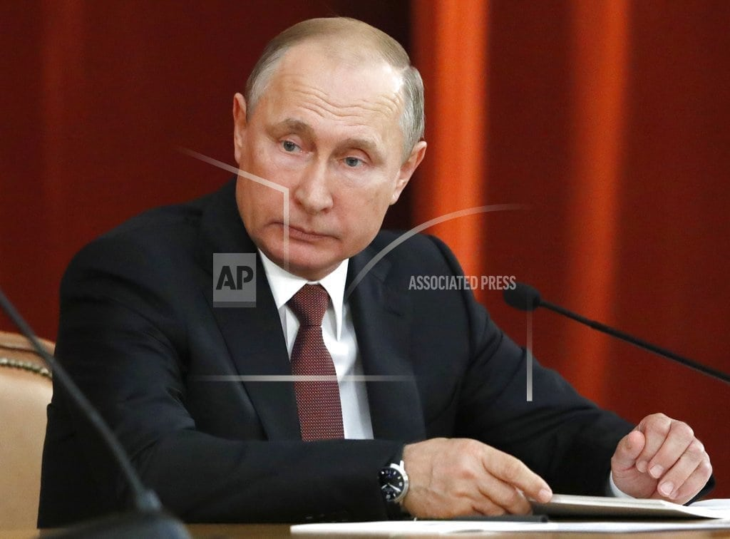 MOSCOW | Putin, Trump talked about a referendum for eastern Ukraine