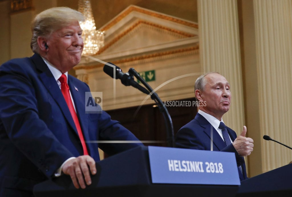 AUSTIN, Texas | National GOP reluctant to weigh in on Trump's Russia swirl