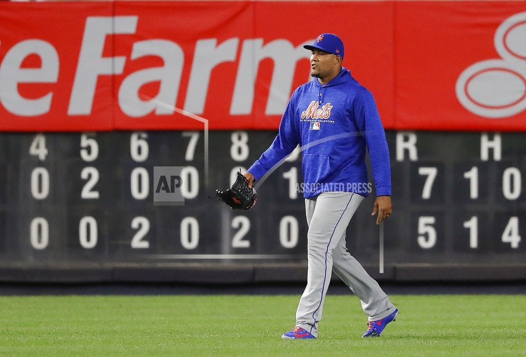 NEW YORK | Closer Jeurys Familia traded by Mets to Oakland