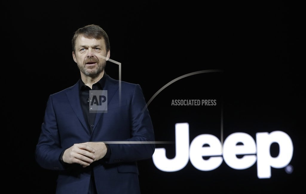 ROME | Fiat Chrysler picks Jeep's Manley to replace ailing CEO