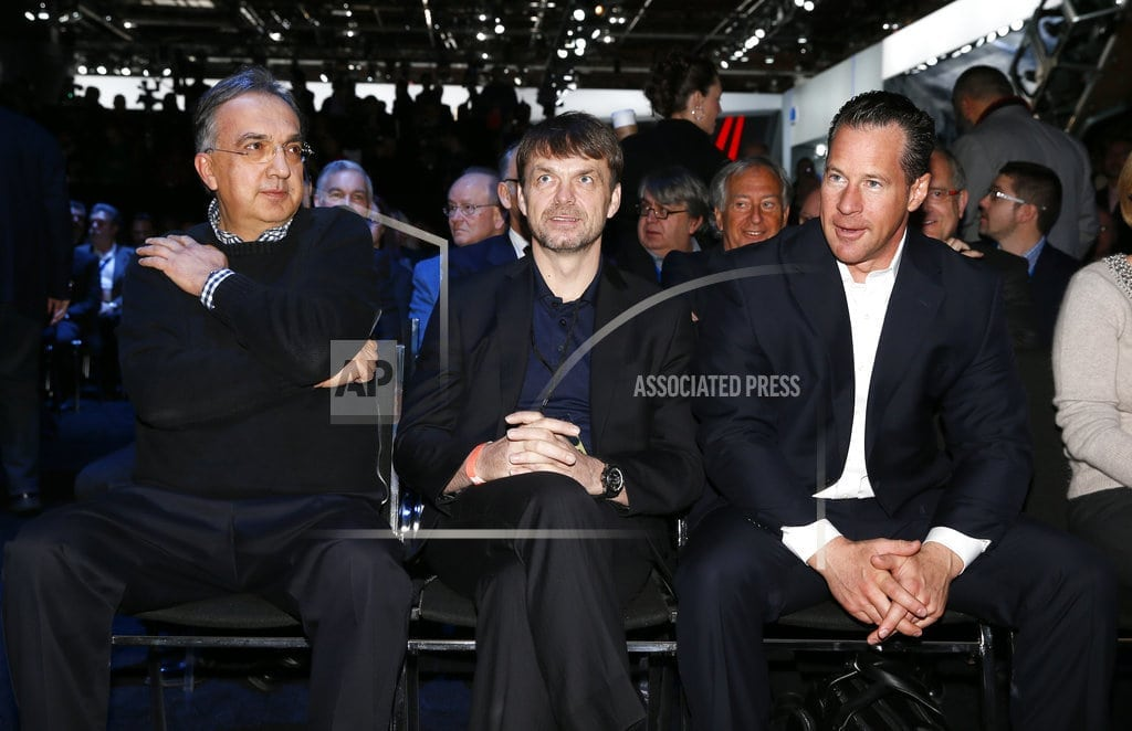 ROME | Fiat Chrysler choses Jeep exec Manley to replace ailing CEO