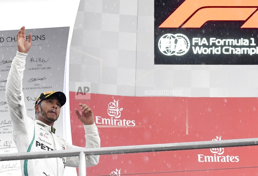 HOCKENHEIM, Germany | Resilient F1 champion Lewis Hamilton revels in adversity