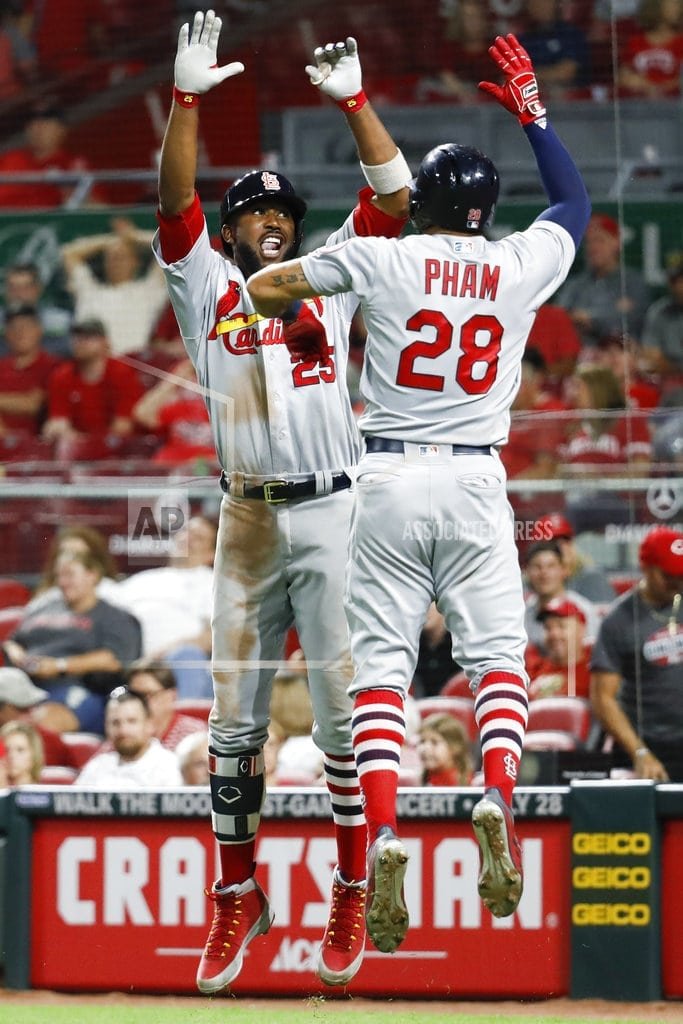 The St. Louis   Cardinals deal Pham to Rays as trading deadline arrives