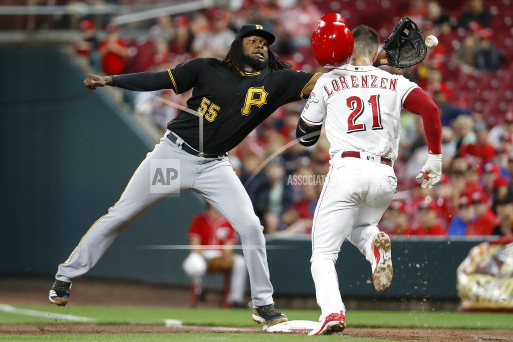 CINCINNATI | Dickerson hits 2 HRs, Pirates beat Reds for 8th straight win
