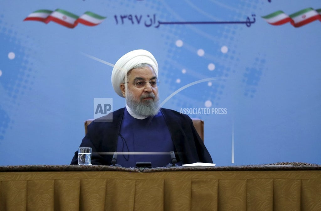 WASHINGTON  | The Latest: Iranian officer: Trump 'won't dare' to attack