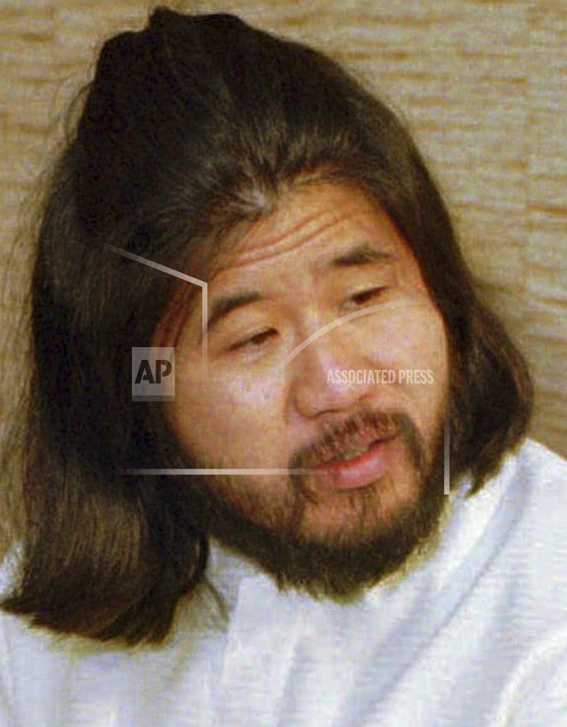 TOKYO | Cult leader executed for Japan sarin attacks still a mystery