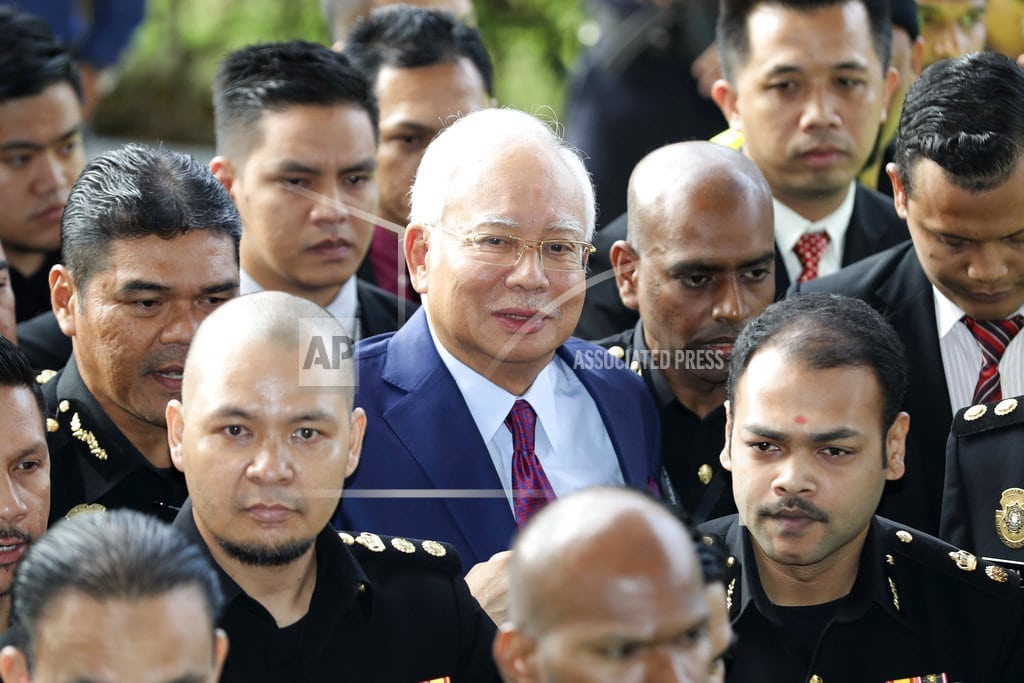 KUALA LUMPUR, Malaysia | Former Malaysia leader charged with breach of trust, graft