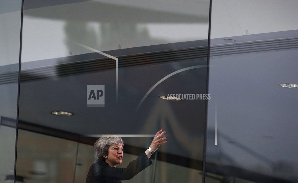 LONDON  | Britain's May in Northern Ireland to push her Brexit vision