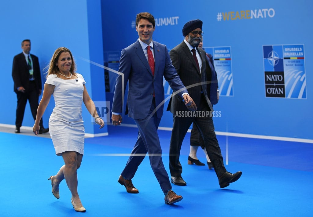 BRUSSELS | Canada offers to lead new NATO operation in Iraq