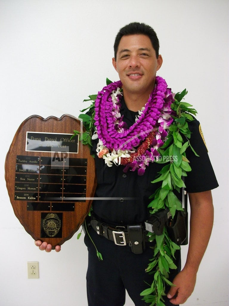 MOUNTAIN VIEW, Hawaii | Police return from days off, vacation to hunt for cop killer