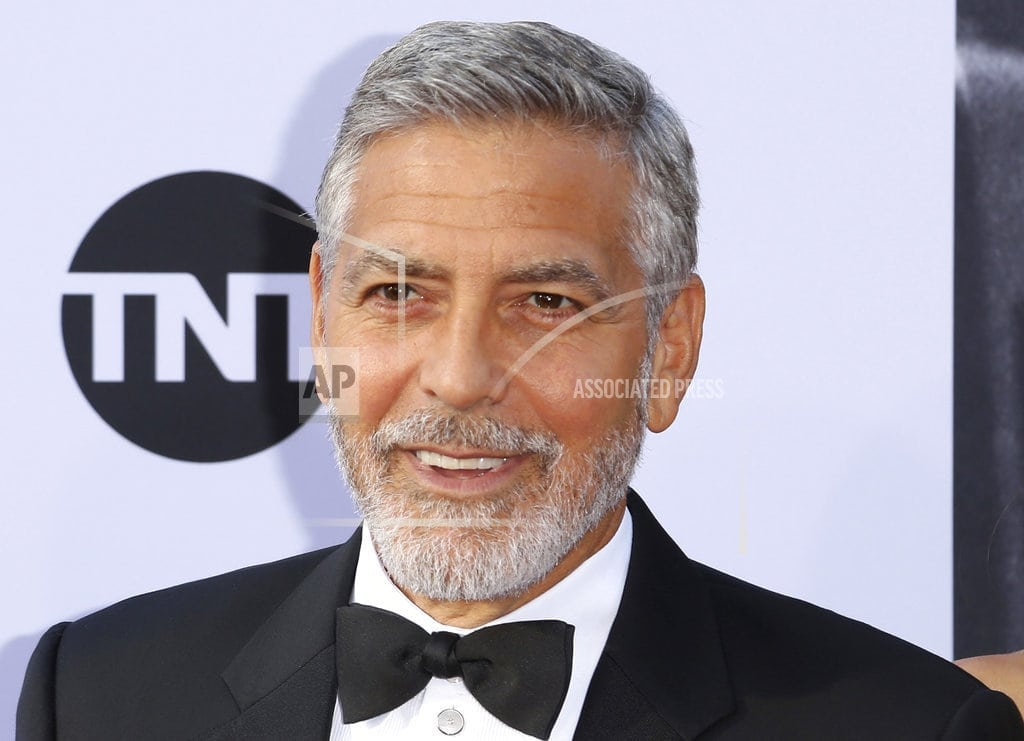 OLBIA, Sardinia | Video shows moment of Clooney crash, actor thrown in air