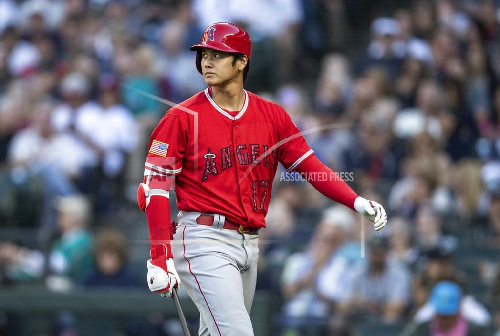 SEATTLE | Ohtani back as DH, to be evaluated for pitching in 3 weeks