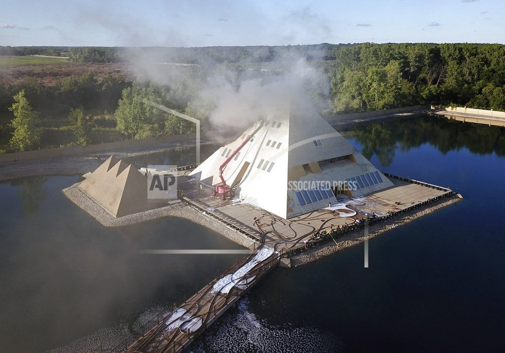 WADSWORTH, Ill. | Owners may demolish pyramid home in Illinois after fire