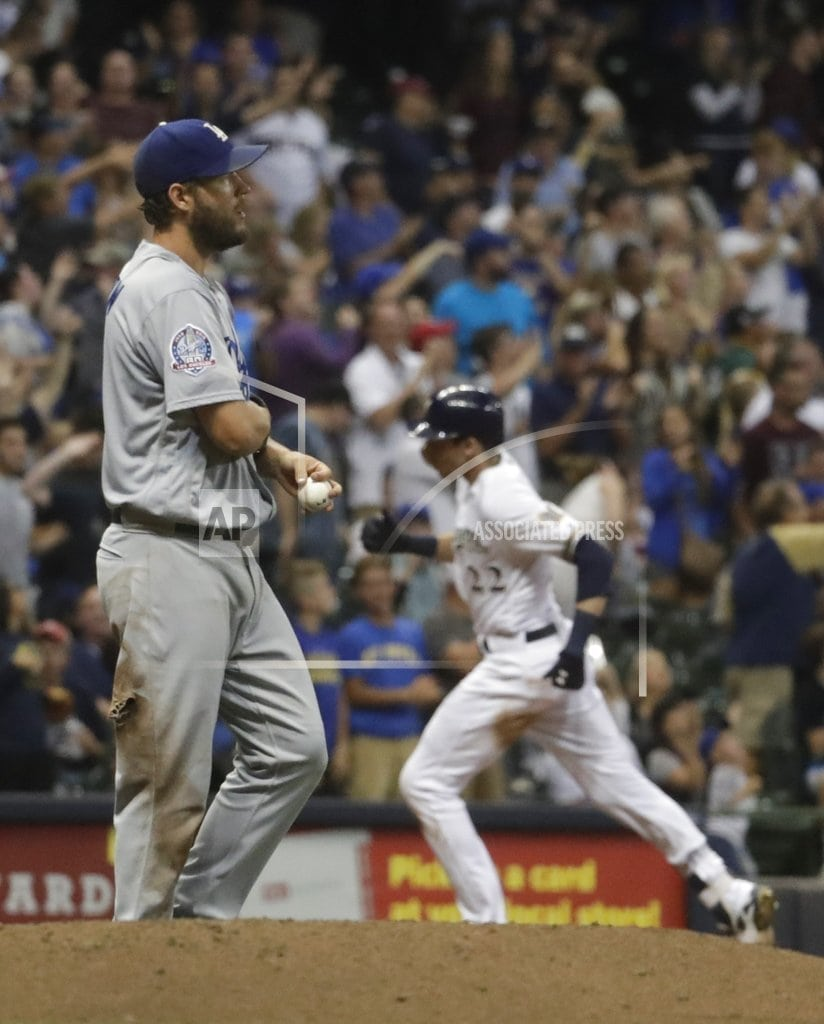 MILWAUKEE | Yelich, Brewers get to Kershaw in 4-2 win over Dodgers