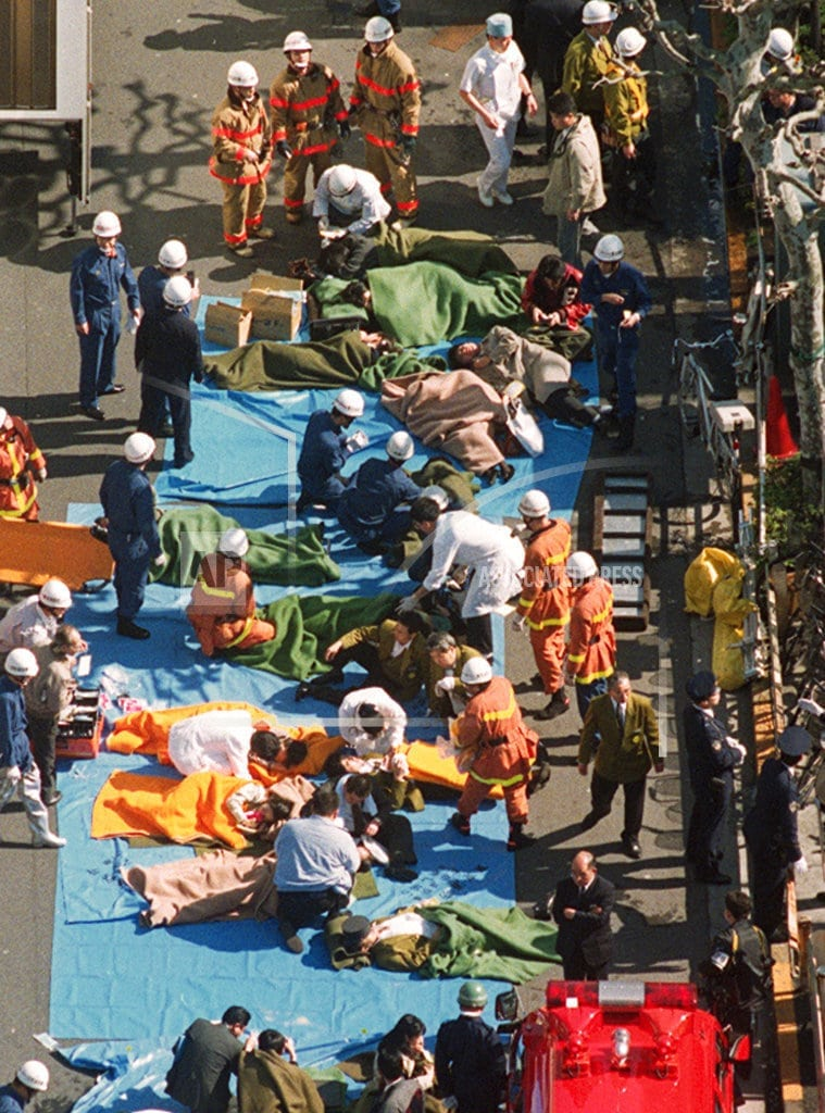 TOKYO | The Latest: Japan confirms execution of doomsday cult leader