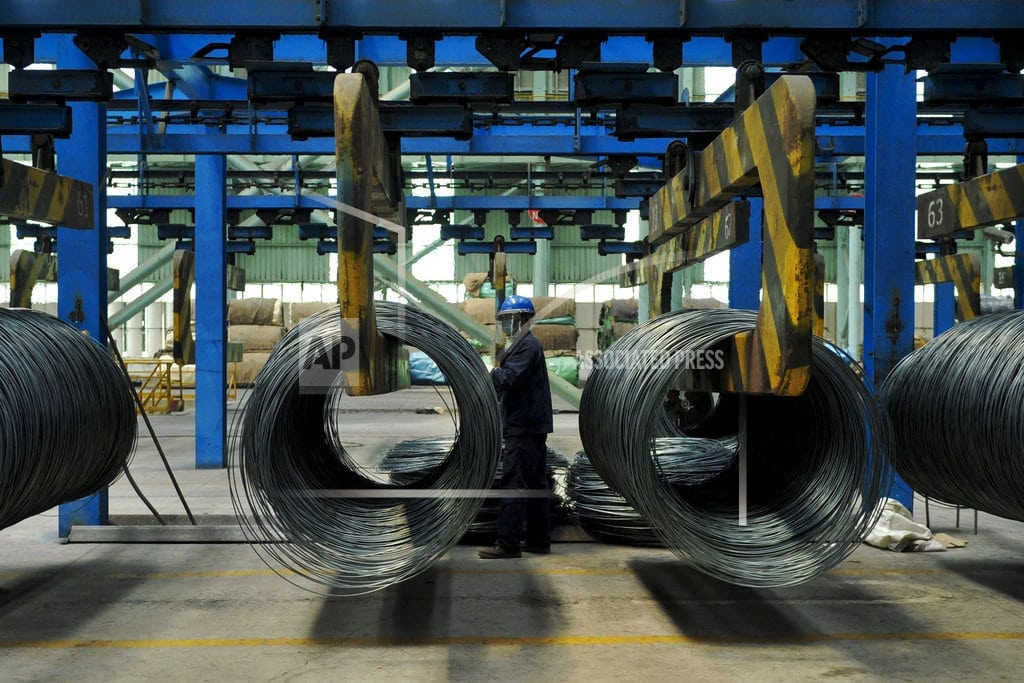 BRUSSELS  EU tries to limit influx of steel diverted by US tariffs