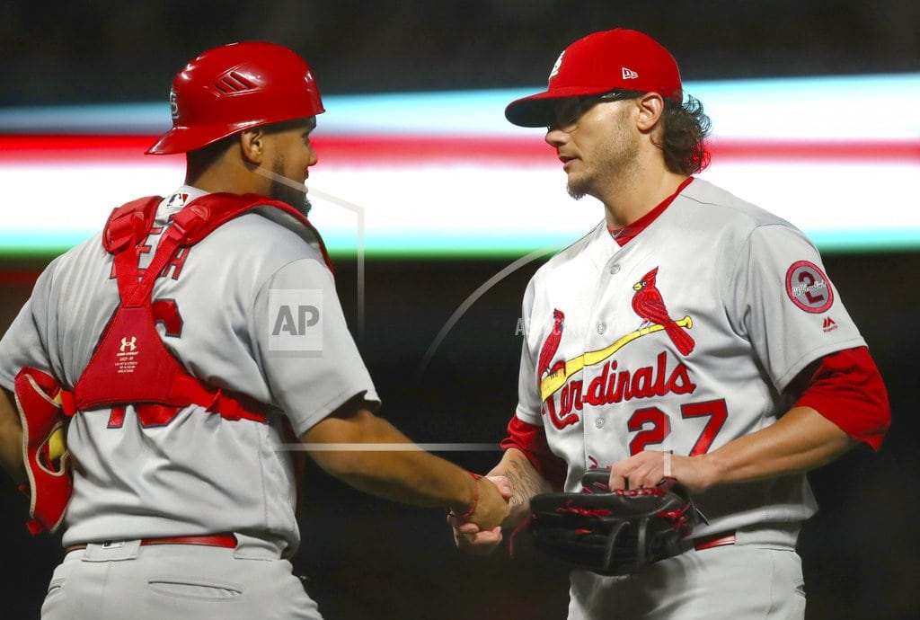 SAN FRANCISCO | Cardinals hit 3 HRs to back Weaver in Cardinals' 11-2 win