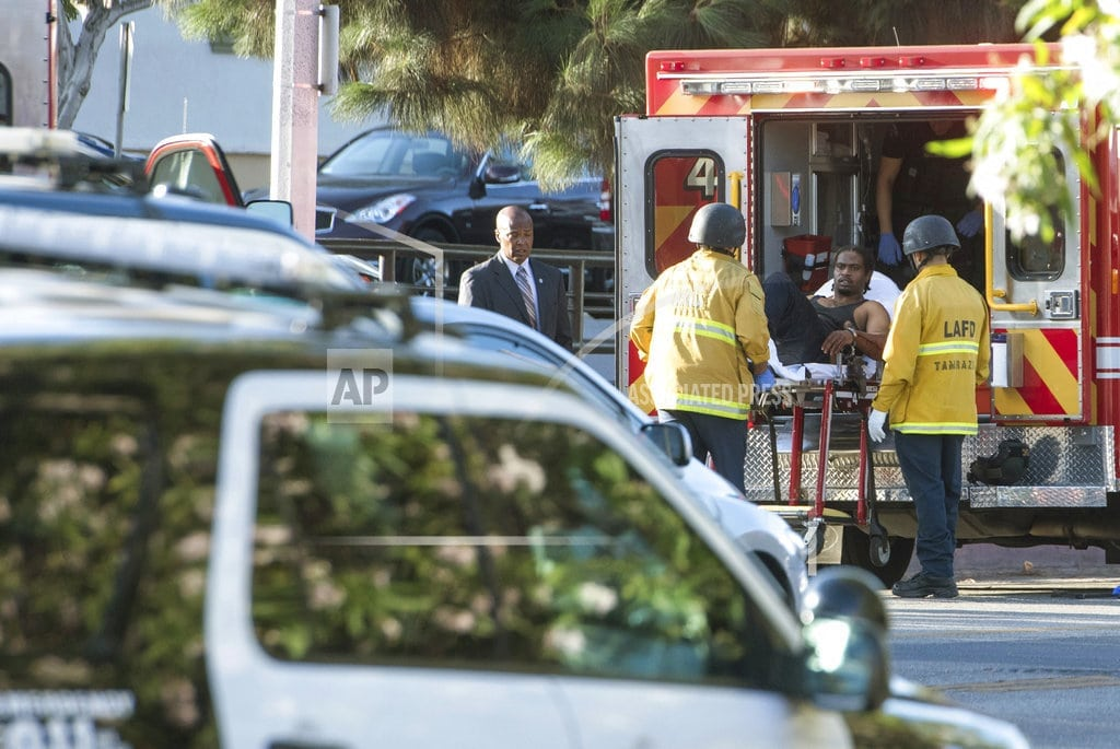 LOS ANGELES  | Deadly LA market shooting started with domestic feud