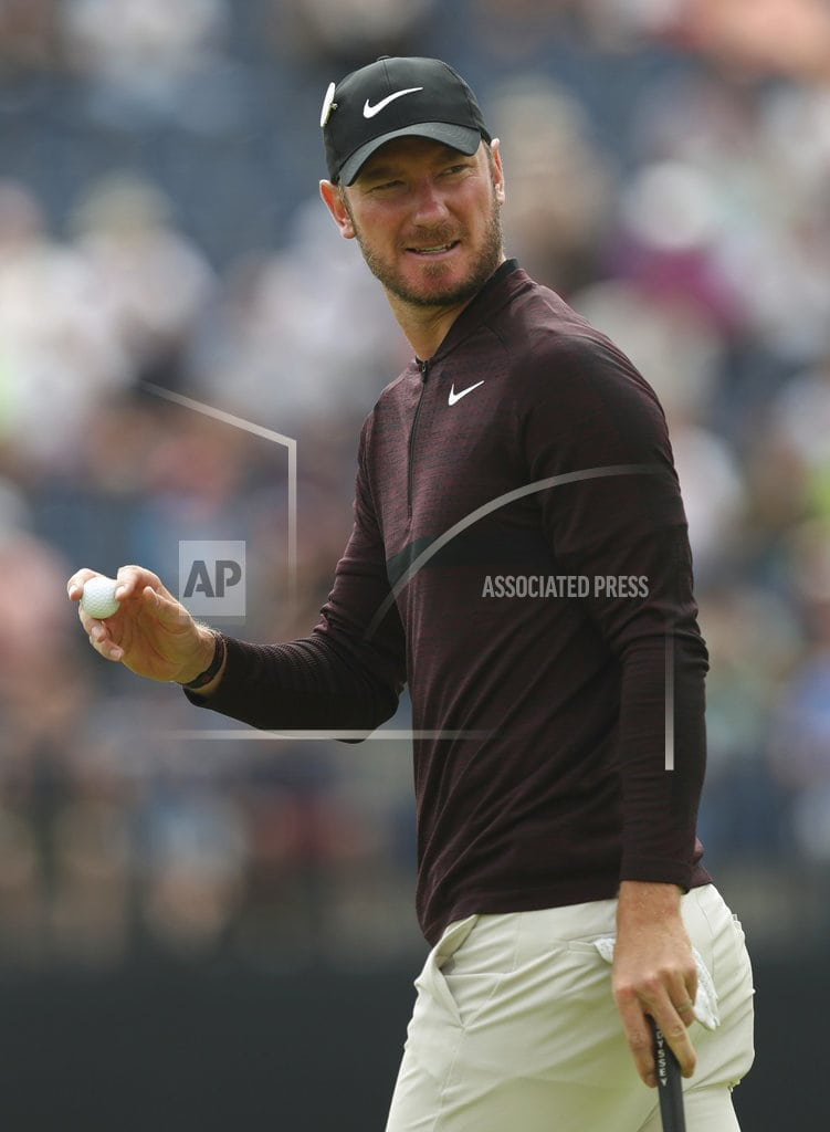 CARNOUSTIE, Scotland  | The Latest: Chris Wood closing in on leaders with hot round