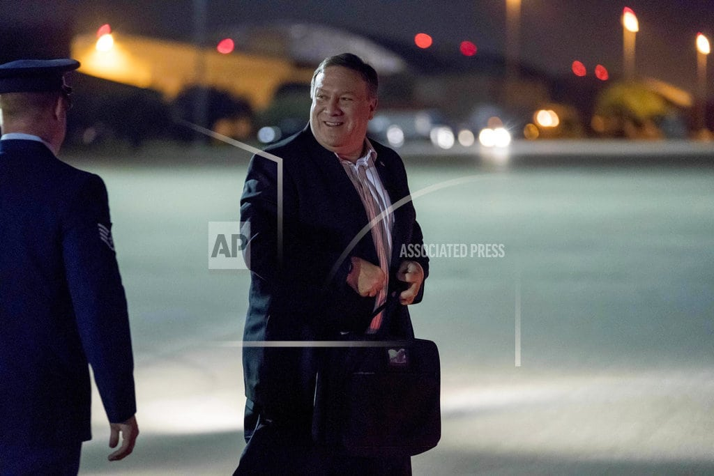 PYONGYANG, North Korea | Pompeo in Pyongyang to fill in details of NK agreement