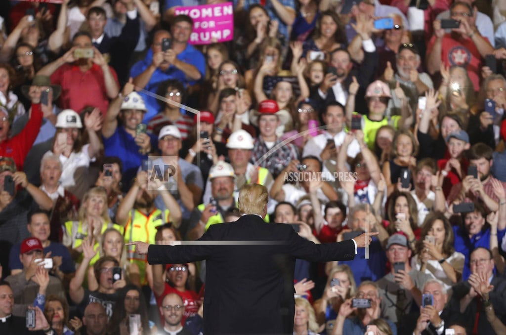 WASHINGTON | The Latest: Trump narrows high court pick to 4 _ or 3 or 2