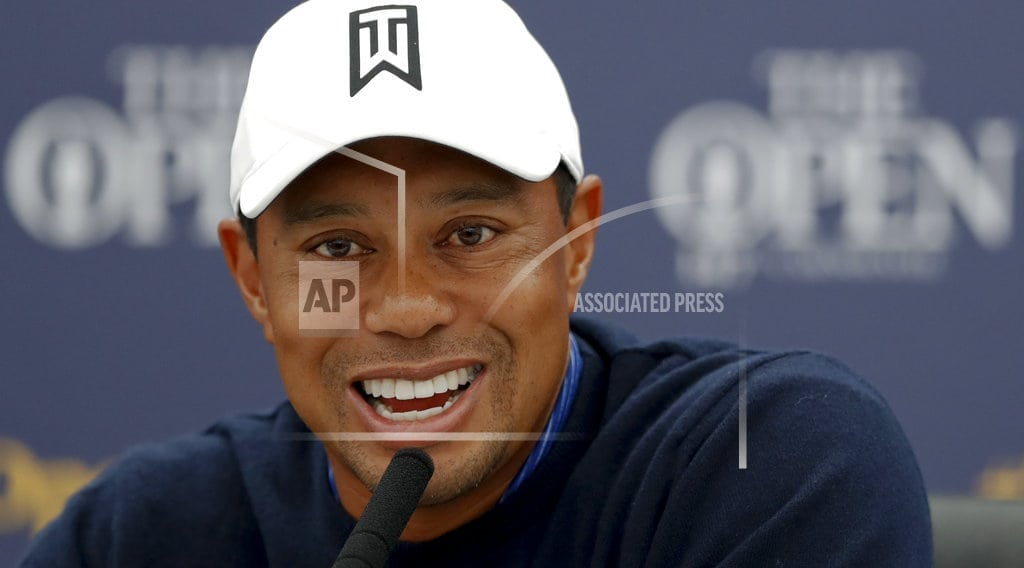 CARNOUSTIE, Scotland | Woods says British Open becomes best shot at a major