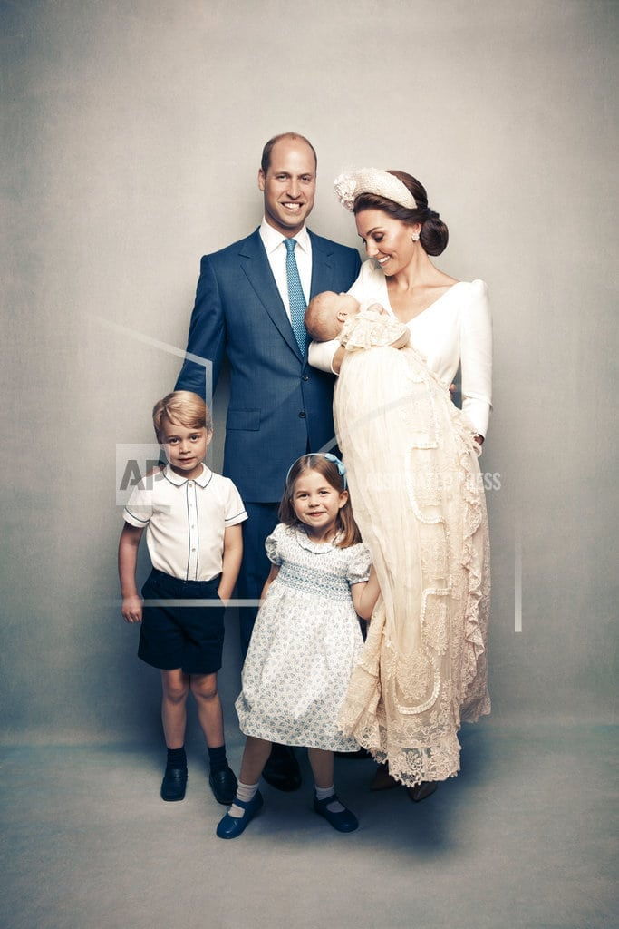 LONDON | Royals release new photos to mark Prince Louis's christening