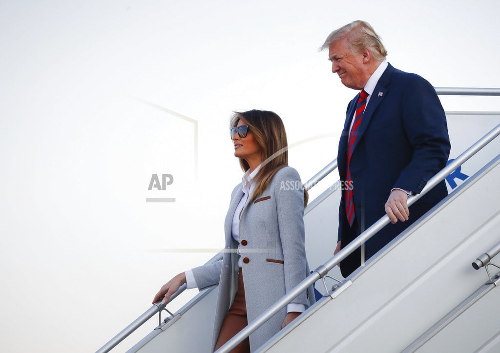 HELSINKI | The Latest: Trump to Putin: The world wants us to get along