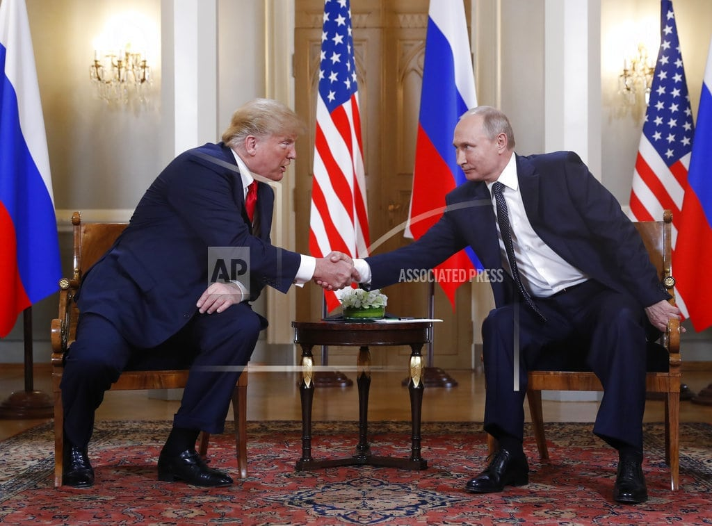 HELSINKI | Royalty, the pope, and now Trump _ Putin makes everyone wait
