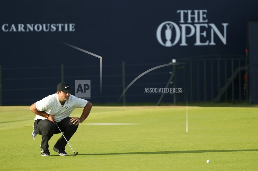 CARNOUSTIE, Scotland | The Latest: No wind, good scoring early in British Open