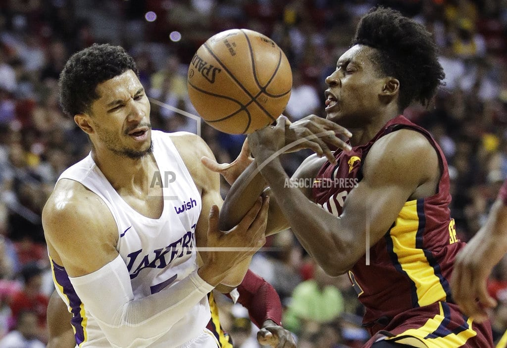 LAS VEGAS | Lakers headed to second straight Summer League title game