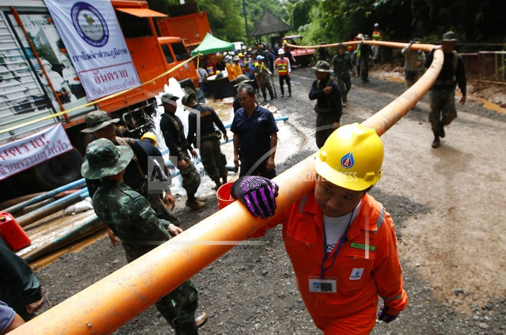 MAE SAI, Thailand | The Latest: Boys may be taken out of Thai cave in stages