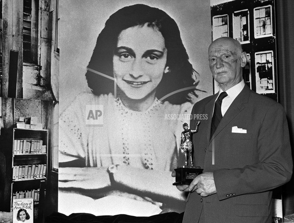 BERLIN | Anne Frank's family tried to escape to US, hit roadblocks