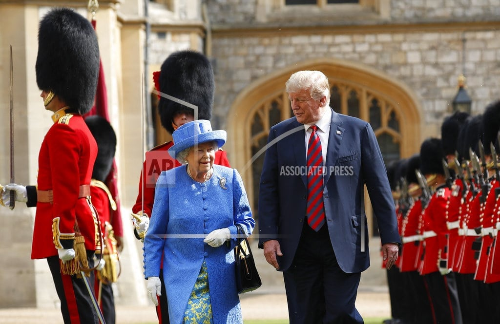 LONDON  | In TV interview, Trump says queen call Brexit 'complex'