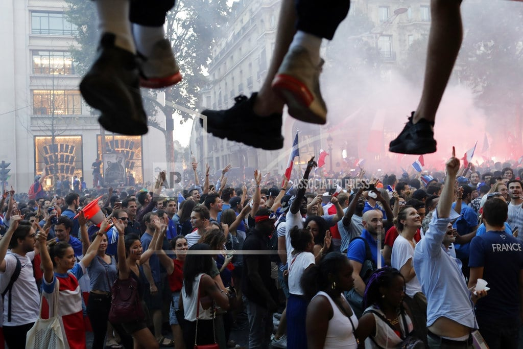 PARIS | World Cup afterglow lifts up conflicted France