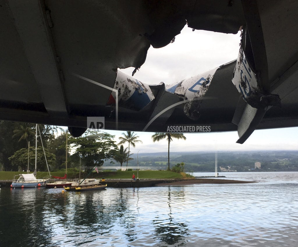 HONOLULU | Hawaii volcano boat tours continue after lava injuries